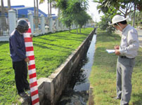Monitoring of hydraulic situation in Tra Noc Industrial Zone