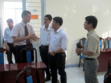 Photo: Discussion between AKIZ experts and Industrial Zone Management